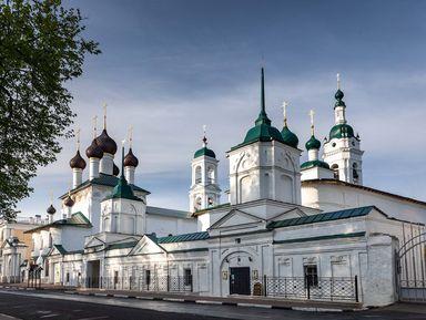 Христианский Ярославль: храмы иТолгский монастырь