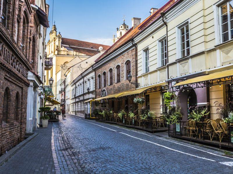 Экскурсия Ежедневная прогулка по Вильнюсу