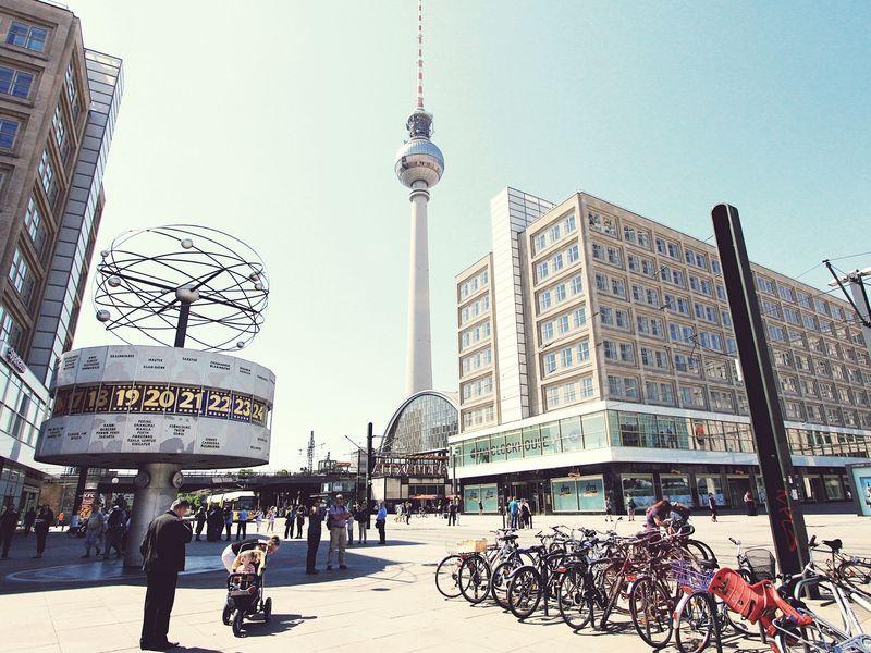 Ежедневная прогулка по Берлину