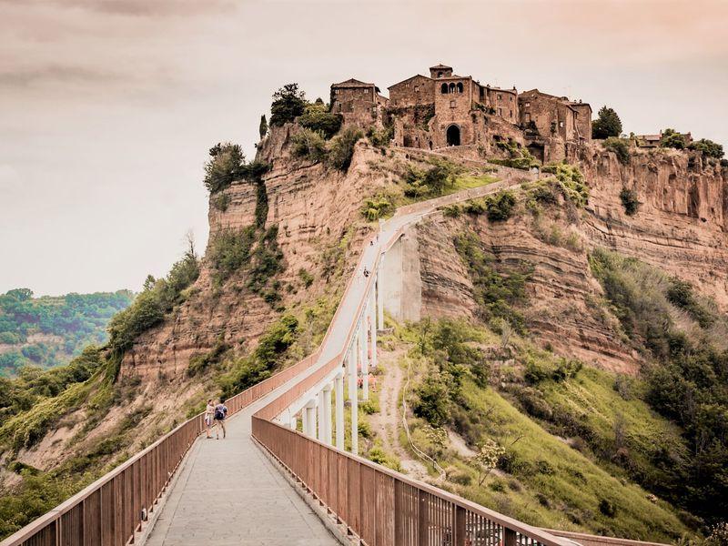 Экскурсия День в средневековой сказке недалеко от Рима