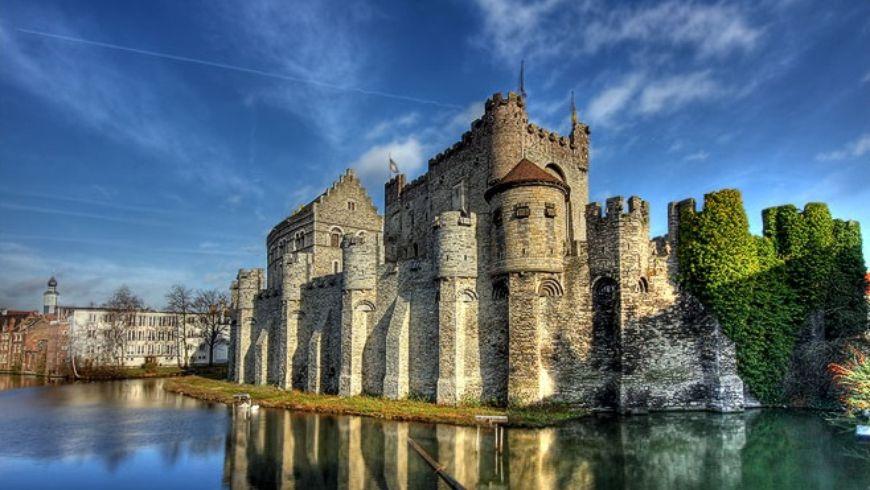 Гент средневековый и современный