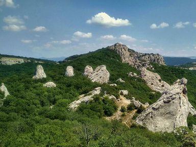 Храм Солнца— место силы вКрымских горах