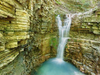 Каньон и водопады Наджиго