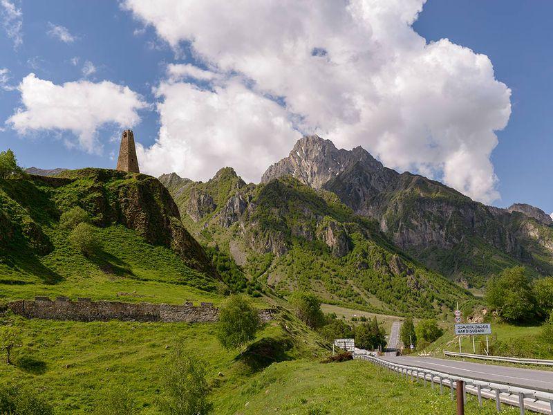 Военно-Грузинская дорога: путь, воплощающий Кавказ width=