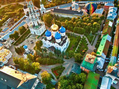 Сергиев Посад: возле стен монастырских