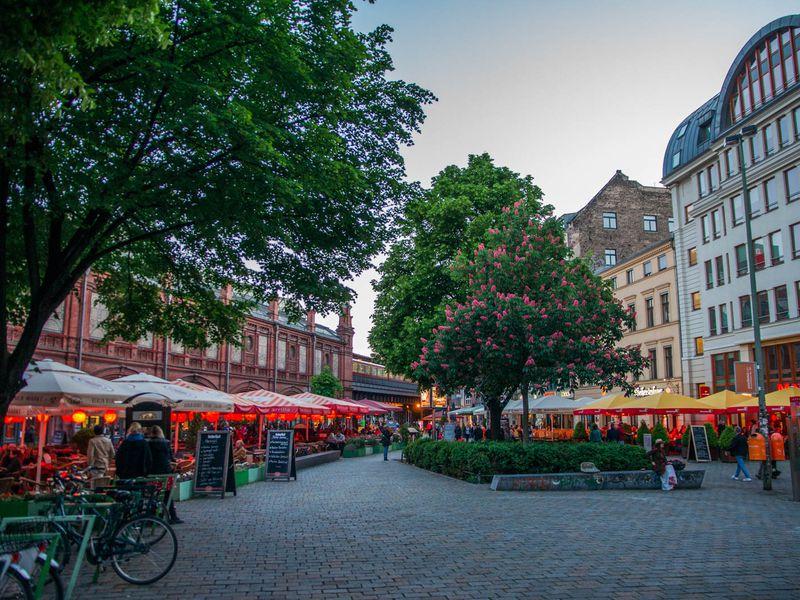 Берлин: микс старого инового