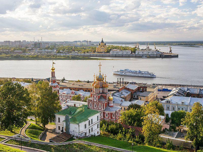 Автомобильное путешествие по главным местам Нижнего Новгорода