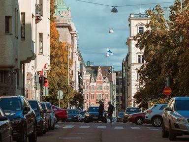 По Хельсинки на автомобиле Mersedes Benz B-class