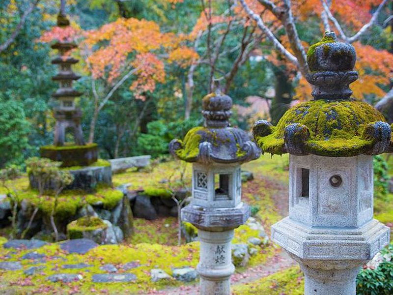 Священная гора Такао итермальные источники