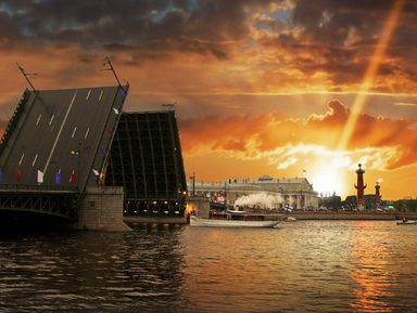 Разводные мосты глазами петербуржца
