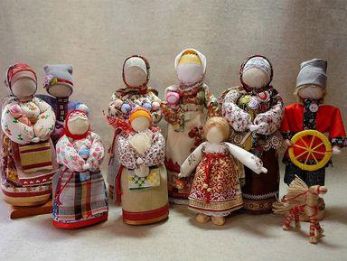 Мастер-класс — изготовление русской тряпичной куклы