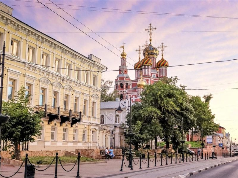 Пешком по центру Нижнего Новгорода