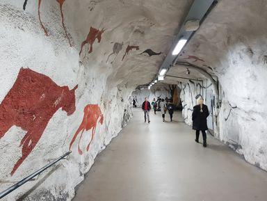 Подземный город Хельсинки