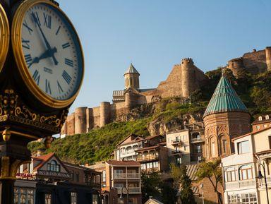 Тбилиси вчера и сейчас