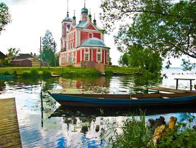 Переславль-Залесский и его живописные окрестности на авто!