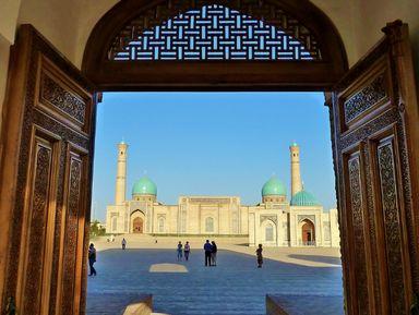 Обзорная экскурсия по Ташкенту
