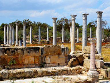 Саламин — Фамагуста. Античный, средневековый и современный Кипр