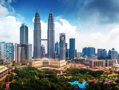 Автомобильная прогулка по Куала-Лумпуру
