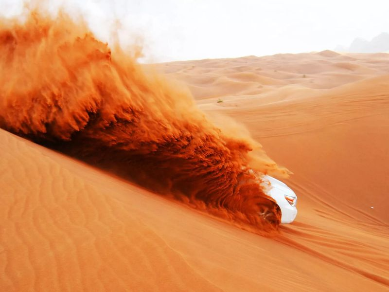 Экскурсия Джип-сафари по дубайской пустыне