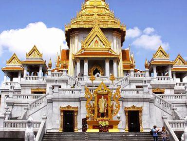 Аутентичные храмы Бангкока