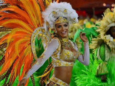 Мир бразильского карнавала!