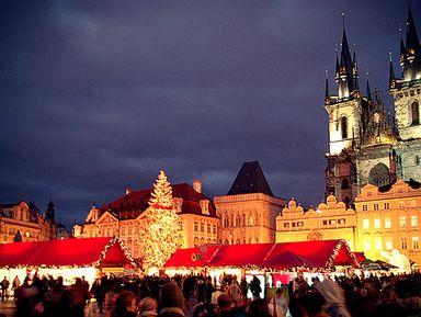 Огни рождественской Праги