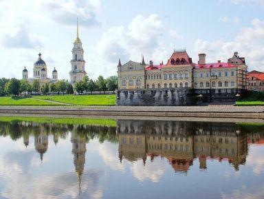 Рыбинск— маленький Петербург