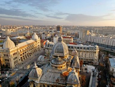 Бухарест— «маленький Париж» Восточной Европы