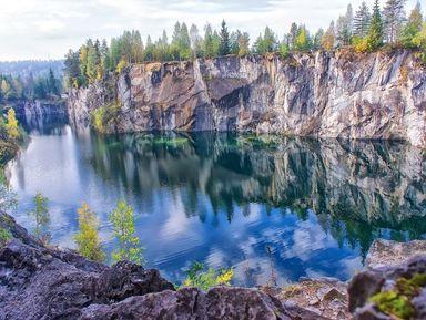 Горный парк Рускеала, Мраморный каньон и водопады Ахинкоски за один день