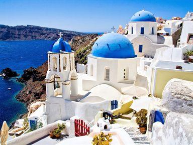 Путешествие на Санторини с Крита