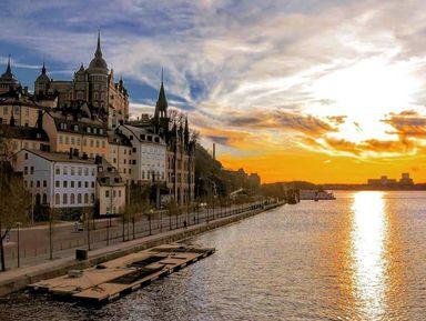 Экскурсия в Стокгольме: Лучшие виды богемного острова Сёдермальм