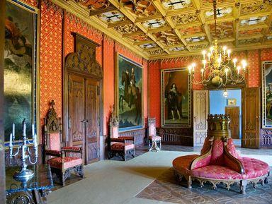 Замок Сихров и богемские гранаты — национальное достояние Чехии