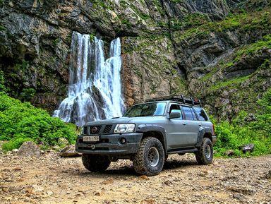 Джип-приключение по заповедной высокогорной Абхазии!
