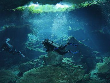 Мексика: захватывающий дайвинг в пещерах