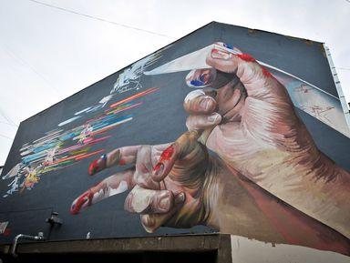 Екатеринбург и стрит-арт: прогулка с художником