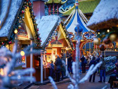 Рождественский Копенгаген: игра света и красок