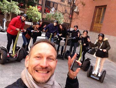 Обзорная экскурсия на сегвеях по Мадриду