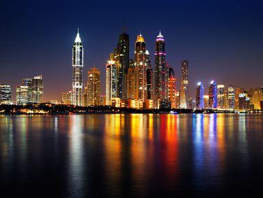 Ночной Дубай: обзорная экскурсия и прогулка на катере