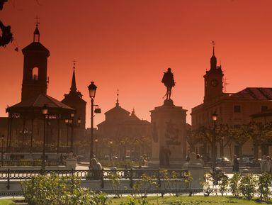 Алькала-де-Энарес: овеликом Сервантесе иистории города