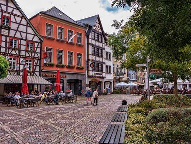 Бад-Нойенар-Арвайлер— неприметное чудо Германии