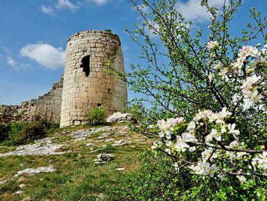 Сюйреньская крепость иЧелтер-Коба: Средние века вкрымских горах