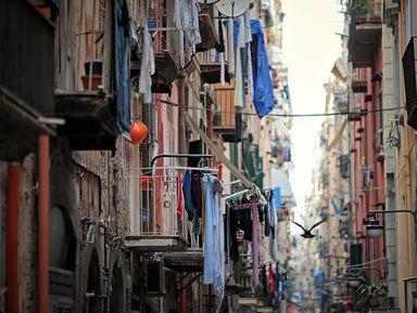 Испанские кварталы, или Неаполь сизнанки