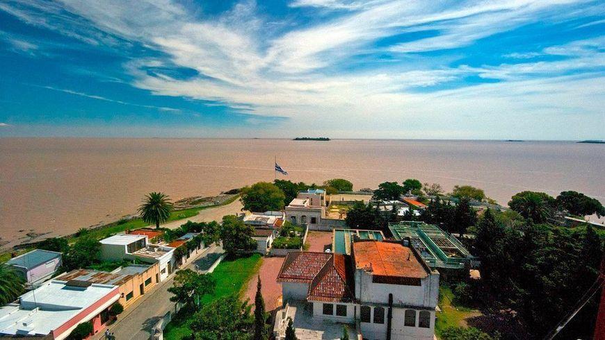 На пароме в Уругвай из Буэнос-Айреса