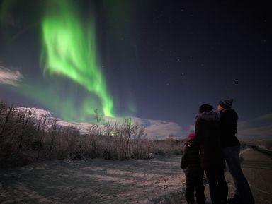 Сезон фото-охоты на северное сияние открыт!