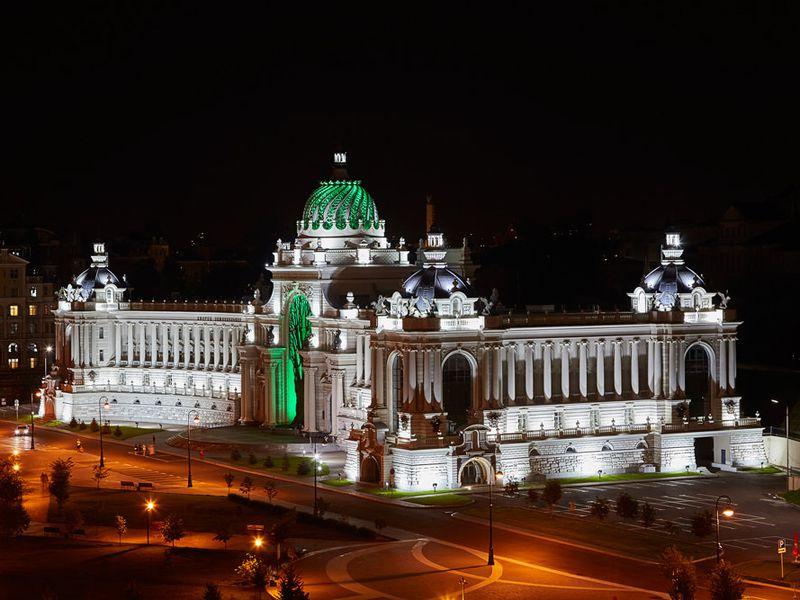 Вечерняя Казань вчера исегодня