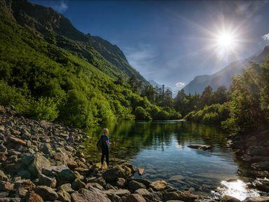 Заповедный Домбай: путешествие к Бадукским озерам