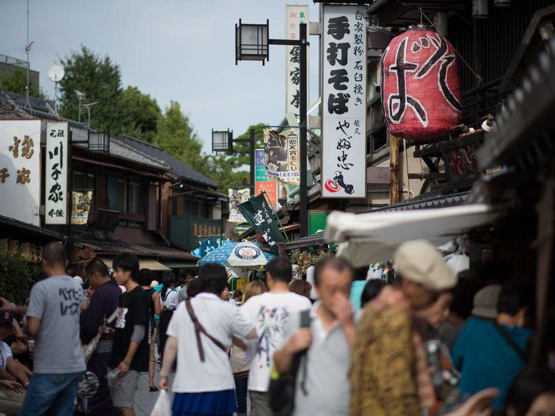Прогулка в атмосфере старого Токио