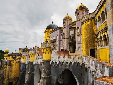 Дворец Пена и мыс Рока