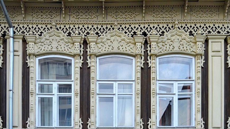 Деревянное кружево Новониколаевска