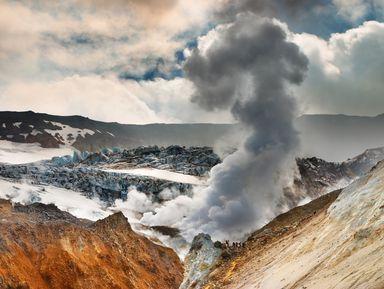 На снегоходе — в кратер Мутновского вулкана!